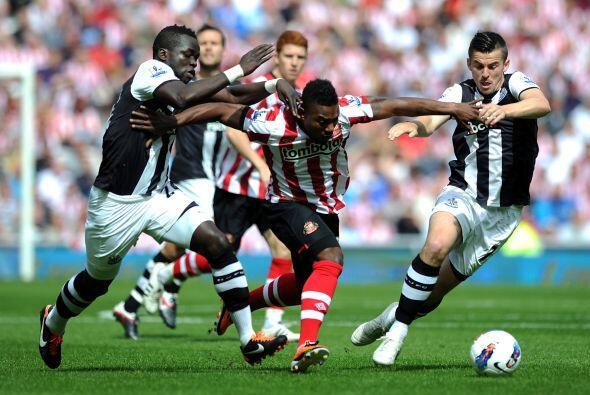 En otro de los partidos de la fecha, Newcastle superó al Sunderland por...