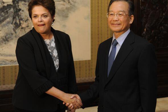 En la reunión con el presidente Jintao, habló de la importancia de los l...