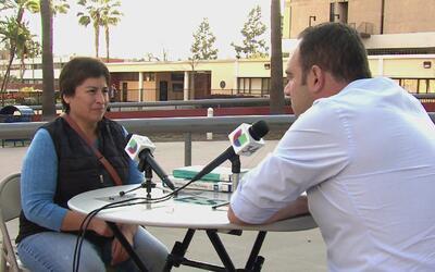 """Inmigrante mexicana que quiere ser profesora: """"Las maestras reprendían,..."""