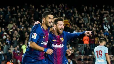 Los Culés están entre los mejores equipos del mundo.
