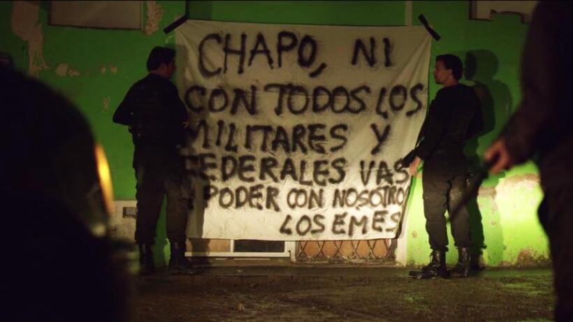 guerra poder en El Chapo