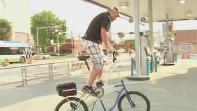 Bicicletas altas, una tendencia que toma cada vez más fuerza en las calles de Miami