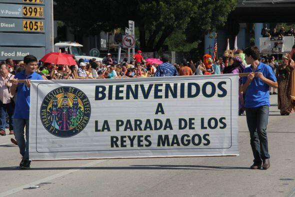 Y empieza la Parada!