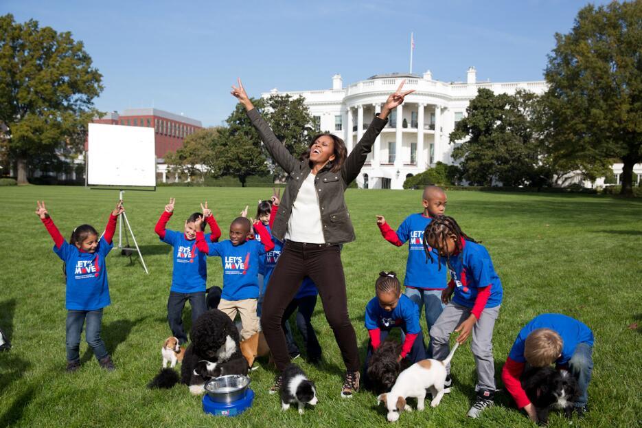 Michelle Obama en los ojos de su fotógrafa personal 11665348554-b87f70c9...