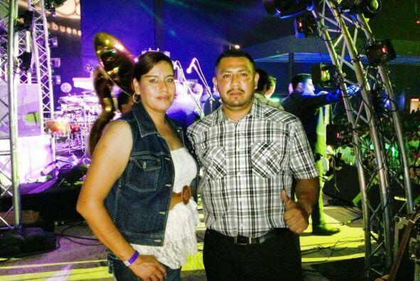 Julio Cesar Pineda Ayala y su esposa ganaron el convivio con  'La Origin...