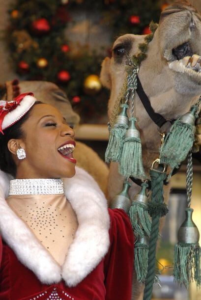 Puede parecerle raro, pero el show navideño está por comenzar y los anim...