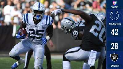 Luck y los Colts alargan la crisis de los Oakland Raiders