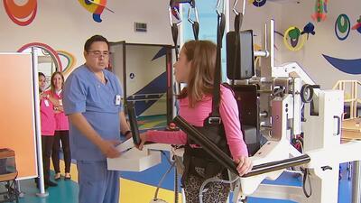 Orlando y Maity te muestran la sala de rehabilitación del CRIT USA y su...