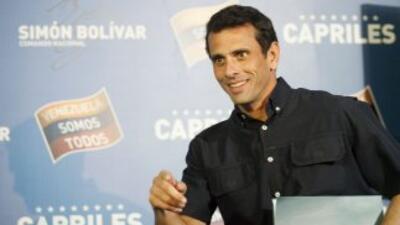 Henrique Capriles, gobernador del estado Miranda.