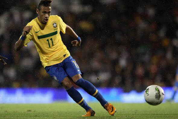 Neymar era el hombre que intentaba darle esa chispa que caracteriza a lo...