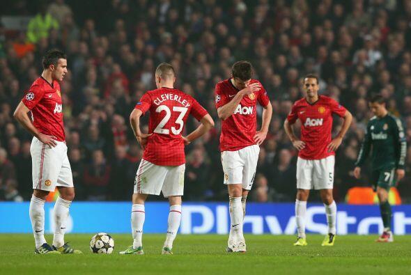 Manchetser United veía ir su ventaja al trasto y quedaba eliminado en su...