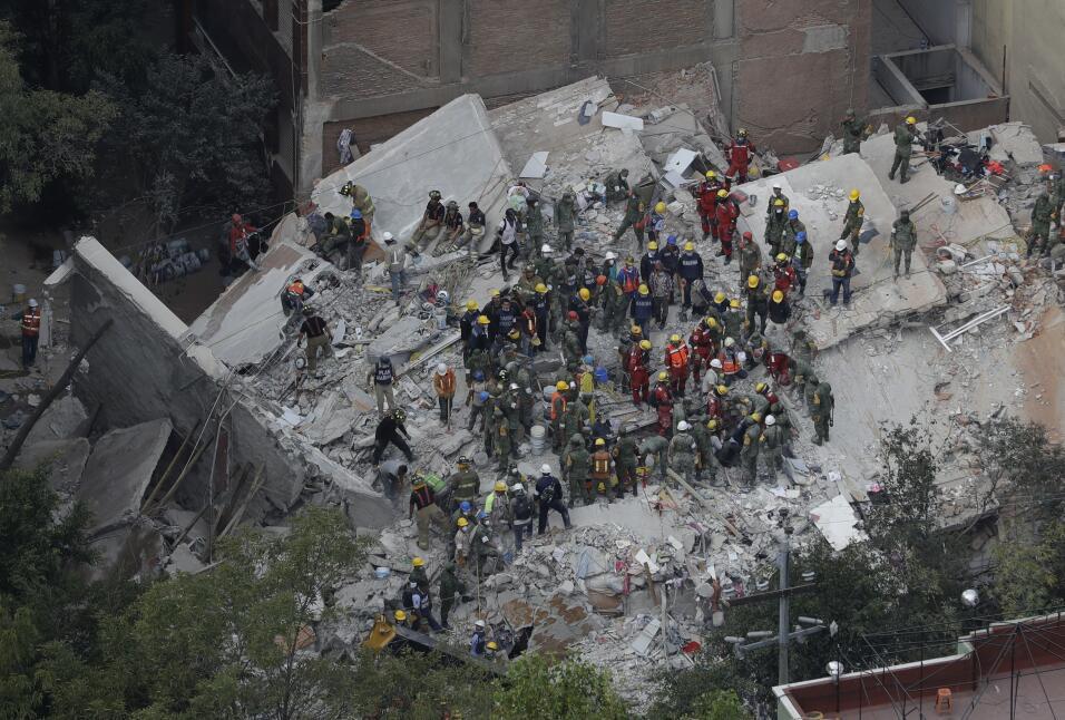 Terremoto Mexico Aéreas