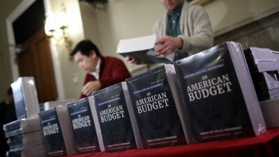 La presentación del presupuesto para el año fiscal 2019 en el Capitolio.
