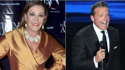 A Sylvia Pasquel no solo le gusta la música de Luis Miguel, también su peinado
