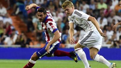 El alemán arrancó como titular y sumó sus primeros minutos con el Madrid...
