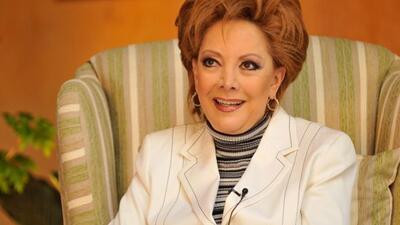 Jacqueline Andere aprendió mucho de actuación cone el fallecido Raúl Ara...