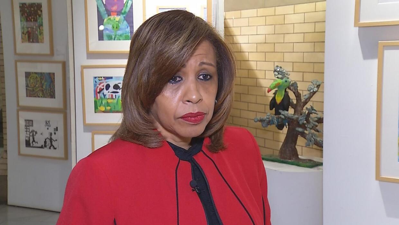 Yolanda Torres, executive superintendent for community involvement at Ne...