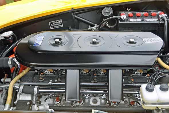 Y el motor está en tan buenas condiciones como lo está el motor.