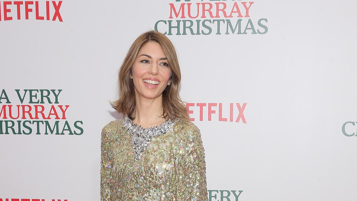 Sofia Coppola attends the 'A Very Murray Christmas'