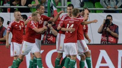 Los húngaros cayeron ante Irlanda en las eliminatorias rumbo a la Euro.