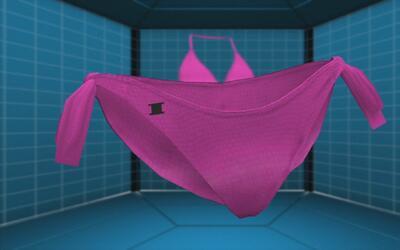 Bikini inteligente de alta tecnología está diseñado para prevenir quemad...