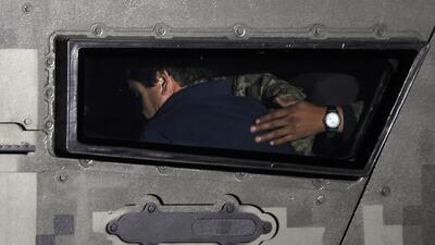 """Un funcionario asegura que """"El Chapo"""" estaba cansado de huir"""