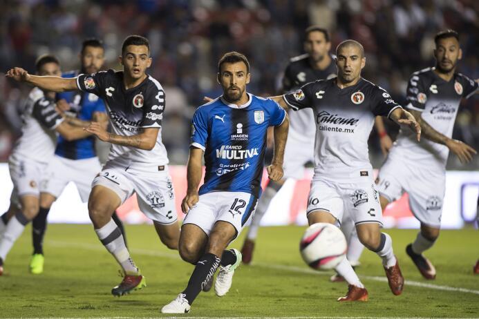 Tijuana liga dos victorias tras vencer al Querétaro a domicilio 20170822...