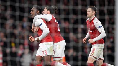 Arsenal, Salzburgo y CSKA Moscú completaron la lista de clasificados a cuartos de Europa League