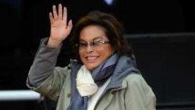 La maestra Elba Esther Gordillo fue reelegida como presidenta del Consej...