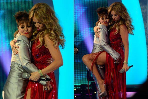 ¡Pero qué confianza se tienen Alejandra y Thalía!