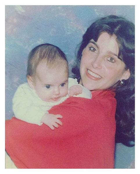 Michelle Renaud de bebé