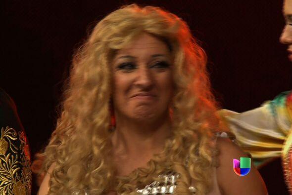 Aún con 60 años, Shakira no logró conquistar a los jueces.