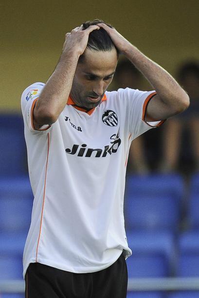 Valencia estaba más que desconsolado, pues no tenía pensado un resultado...
