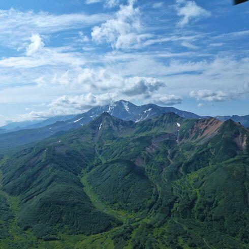 Los Volcanes de Kamchatka en Russia