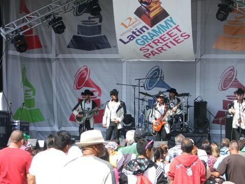 El gran evento del Latin GRAMMY® Street Party, debutó en Hous...