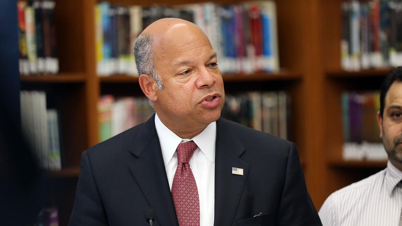 El jefe de la seguridad nacional de Estadios Unidos, Jeh Johnson.