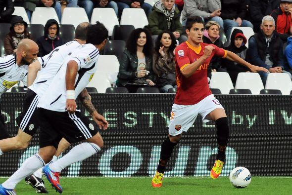 En la misma fecha final en Italia, Roma enfrentó al Cesena.