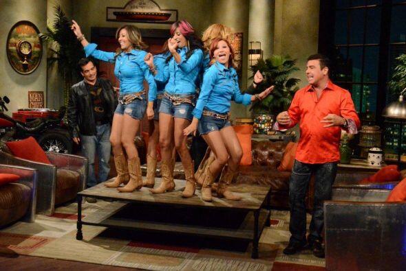 Estas sexi chicas llegan pisando fuerte en la escena musical.