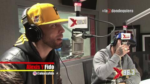 Alexis y Fido llegan a la Zona X con el matatan Dj Lobo