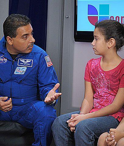 La Tierra desde el espacio¿Se mira bonita la Tierra?, preguntó Natalia C...
