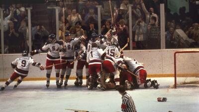 El juego del 22 de febrero de 1980 en el que el equipo de hockey de EEUU...