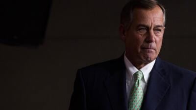John Boehner deja su escaño en Octubre