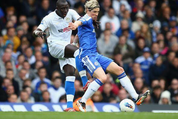 Mohamed Diame empató el juego y rapidamente, Fernando Torres ingresó en...