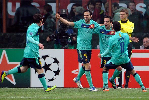 Victoria para el Barcelona por 3-2, con lo que amarró el primer lugar de...