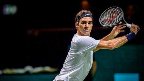 El tenista suizo mostró su calidad.