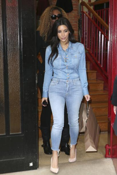 Kim Kardashian se fue de shopping con Serena Williams y según reportes,...