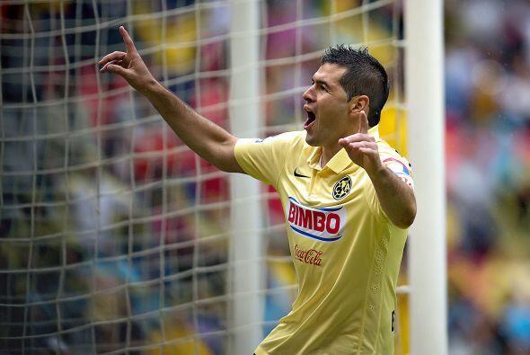El defensa goleador del América, Pablo Aguilar, tendrá que estar muy con...