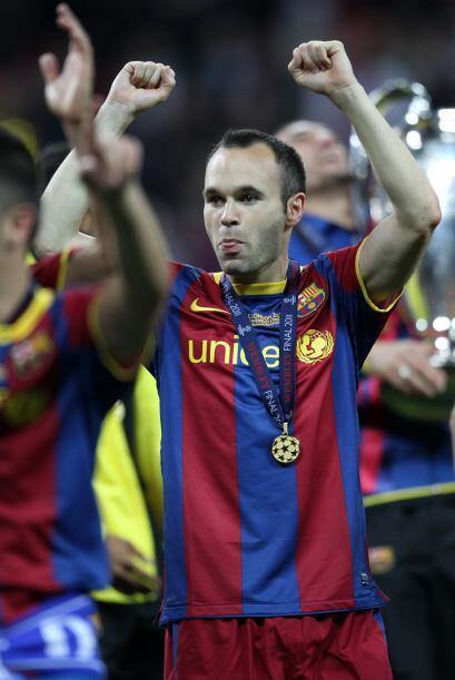 Los títulos del Barcelona no paran de llegar y Andrés ha ganado un lugar...