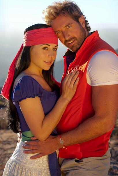 El año pasado, el actor mexicano estelarizó junto con Zuria Vega la tele...