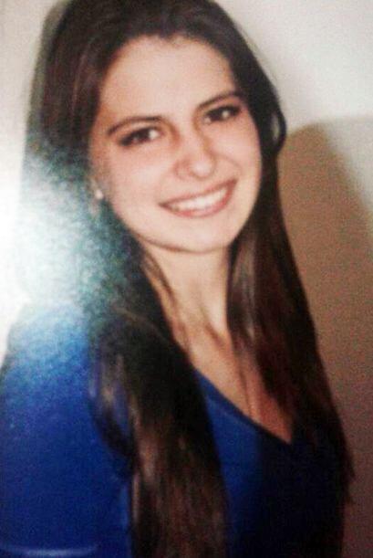 Daniela creció mucho y ahora es una guapa mujer de 19 años.